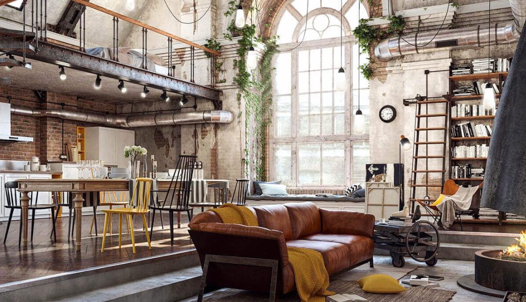 Gosta de decoração industrial? Confira essas dicas para adotá-la em casa!