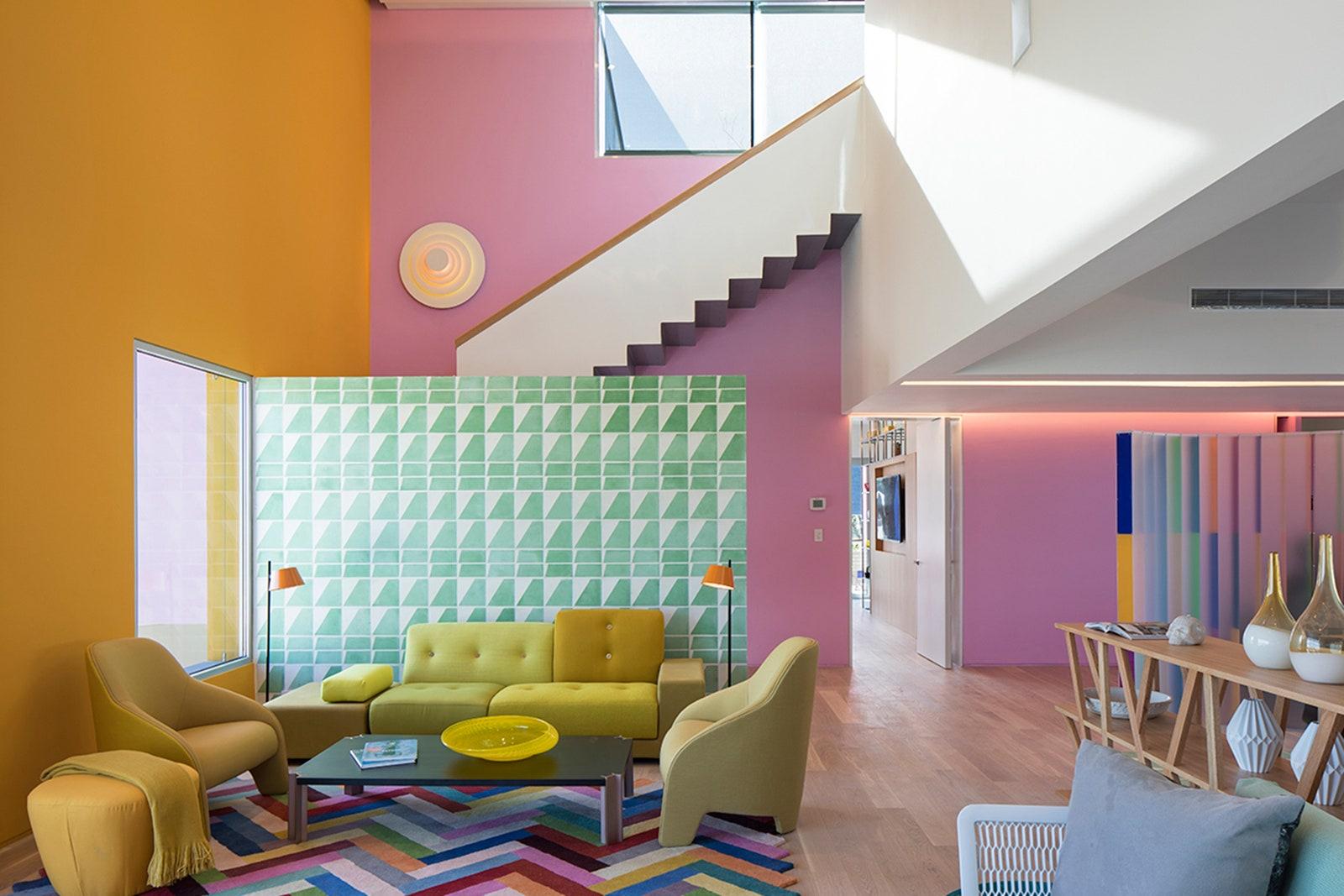Como as cores dos cômodos interferem no nosso humor?